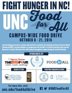 unc-food-for-all-food-drive-flier